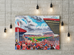 pittodrie canvas a3 size